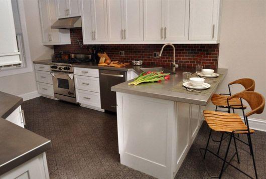 кутові кухні з барною стійкою в сучасному інтер`єрі