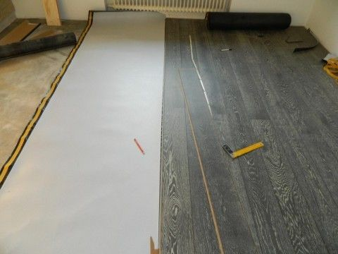 Укладання ламінату на дерев`яну підлогу