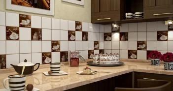 Укладання плитки на кухні фартух: як зробити якісний ремонт