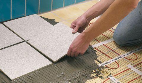 Вибираємо тепла підлога і покриття для підлоги