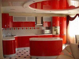 червоні стелі