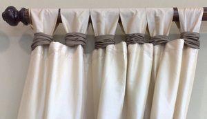 Як самій зшити штори на петлях