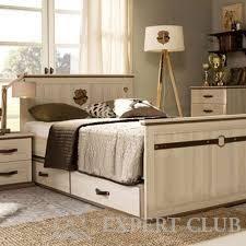 Висока ліжко з ящиками