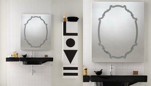 Дзеркало у ванній кімнаті 7