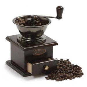 Чим відрізняється ручна жорна кавомолка від електричної?